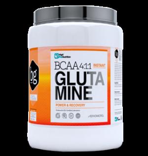 recuperación muscular con bcaa 4-1-1 + glutamina
